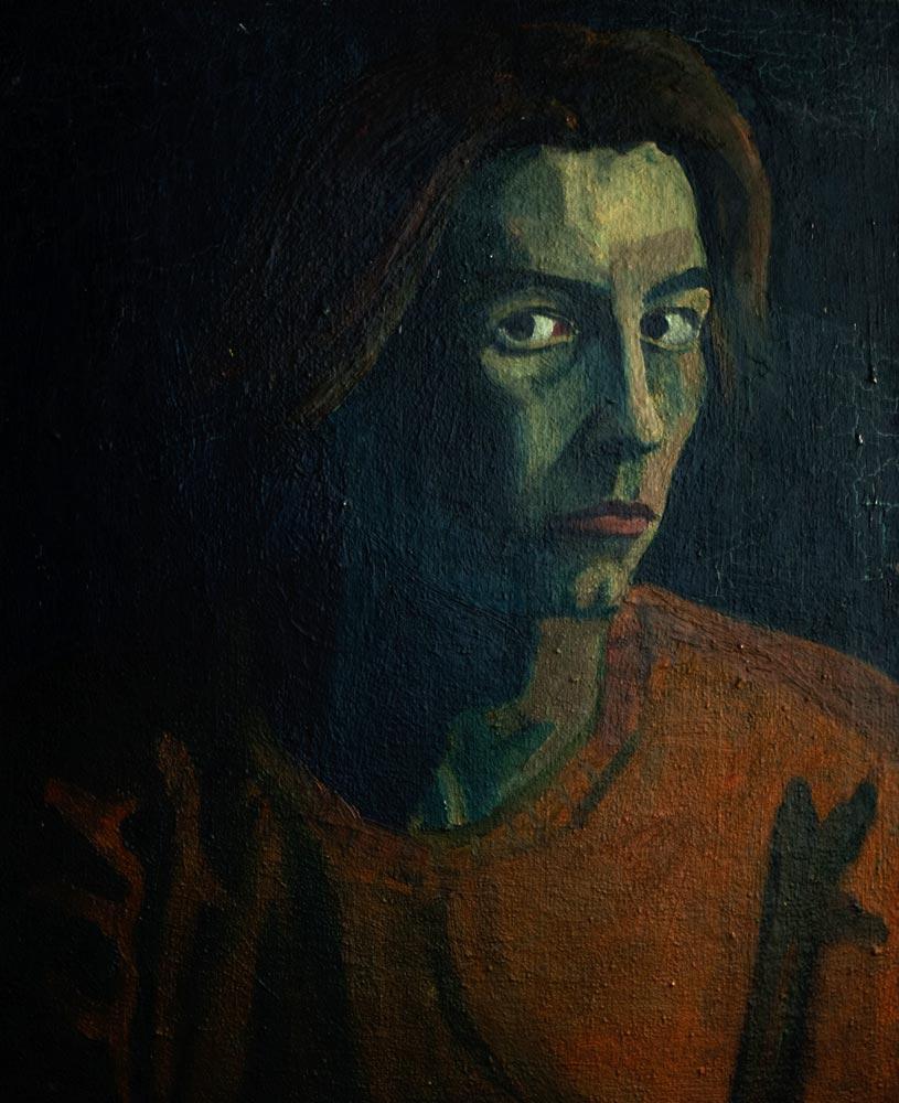 Autoportrait de Jean Janoir (1947).