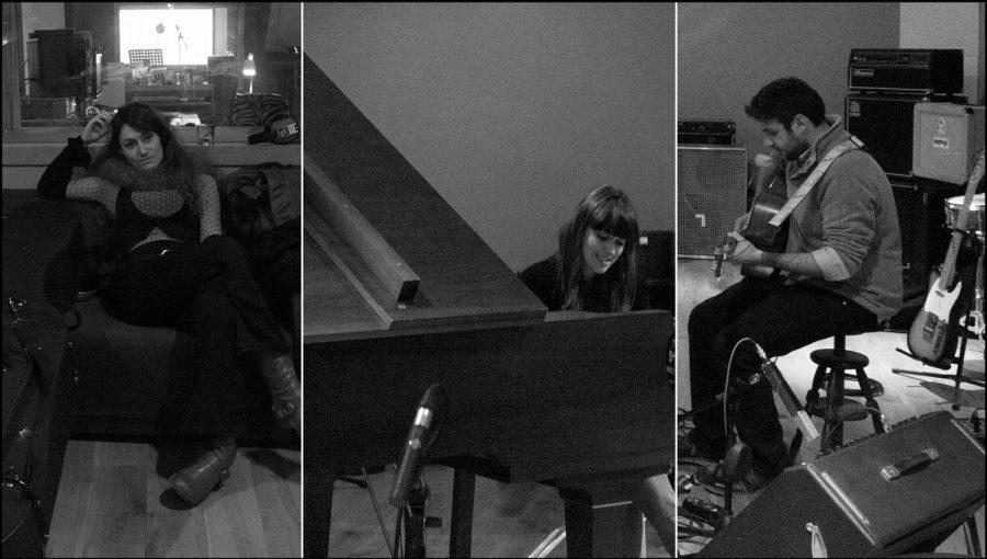 Enregistrement de la musique du film Janoir, une vie à peindre au studio Mikrokosm de Lyon.