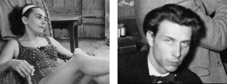 Michelle Bouix et Jean Janoir à l'époque de leur rencontre au Hot Club, à la fin des années quarante.
